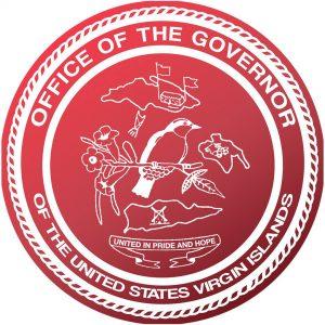 Siegel: Büro des Gouverneurs der Amerikanischen Jungfern-Inseln (# 3)