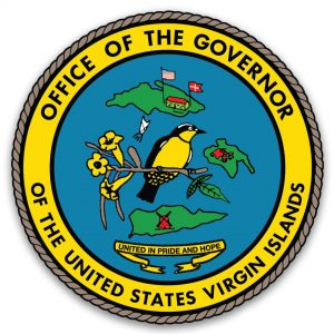 Siegel: Büro des Gouverneurs der Amerikanischen Jungfern-Inseln (# 1)