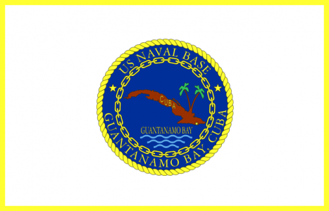 Flagge: Guantanamo-Bucht