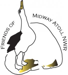 "Logo: Gemeinnützige Organisation ""Freunde des Midway Atoll-Naturschutzgebietes"" (# 2)"