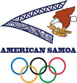 Logo: Komitee von Amerikanisch-Samoa bzw. Nationales Olympisches Komitee von Amerikanisch-Samoa  (# 2)