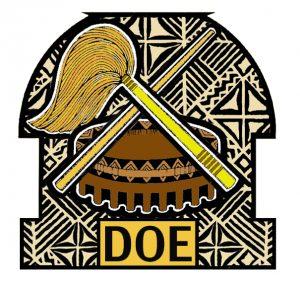 """Logo: """"amerikanisch-samoanisches"""" Ministerium für Erziehung"""