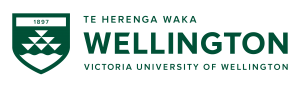 Logo: neuseeländische Victoria-Universität in Wellington