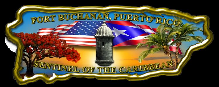 Logo: Fort Buchanan der US-Heeresreserve
