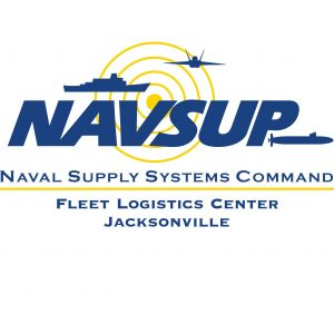 Logo: US-Marineflotten-Logistikcenter Jacksonville in der Guantanamo-Bucht