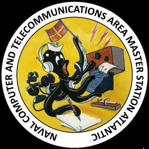 Siegel: Atlantische Computer- und Telekommunikationsstation der US-Marine