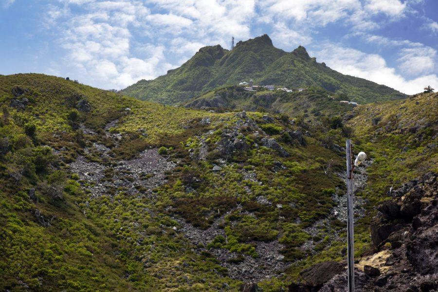 Bild: Mount Scenery auf Saba