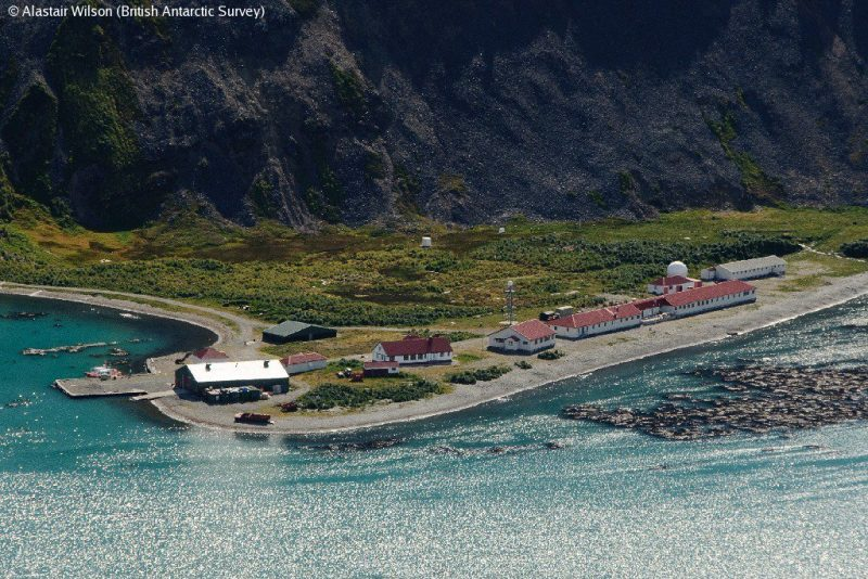 "Bild: Forschungsstation ""King Edward Point"" - © British Antarctic Survey (BAS)"