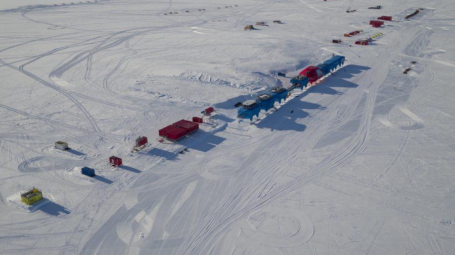 "Bild: Forschungsstation ""Halley VI"" - © British Antarctic Survey (BAS)"