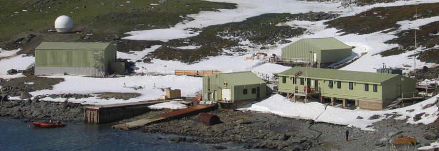 "Bild: Forschungsstation ""Signy"" - © British Antarctic Survey (BAS)"