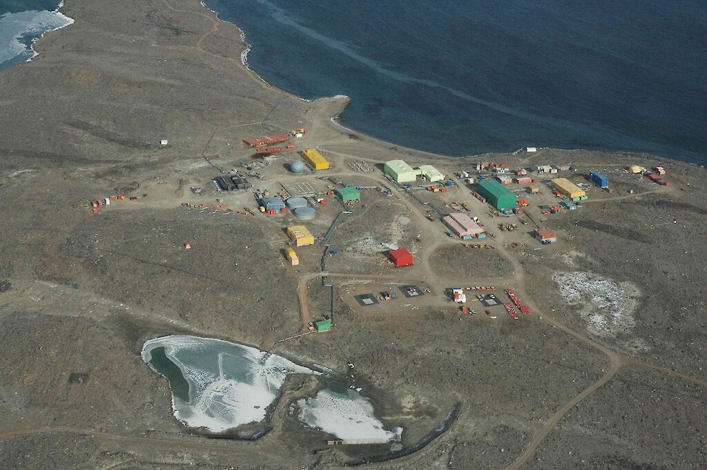 "Bild: Forschungsstation ""Davis"" - © Australian Antarctic Division (AAD)"