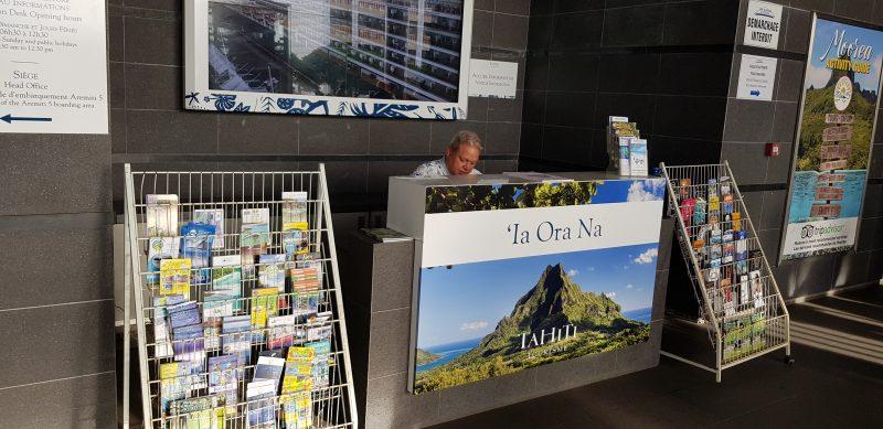 Bild: Touristeninformationsbüro von Tahiti (Hafen von Papeete)