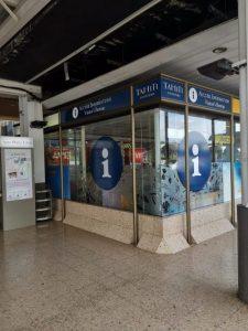 Bild: Touristeninformationsbüro von Tahiti (Flughafen von Papeete)