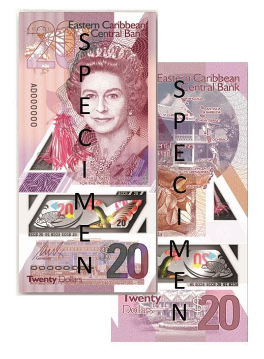 Banknote: 20 Ostkaribische Dollar