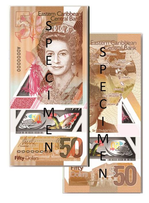 Banknote: 50 Ostkaribische Dollar