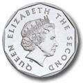 Münze: Vorderseite aller Münzen des Ostkaribischen Dollars