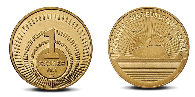 """Münze: 1 """"BES-Dollar"""" 2011"""