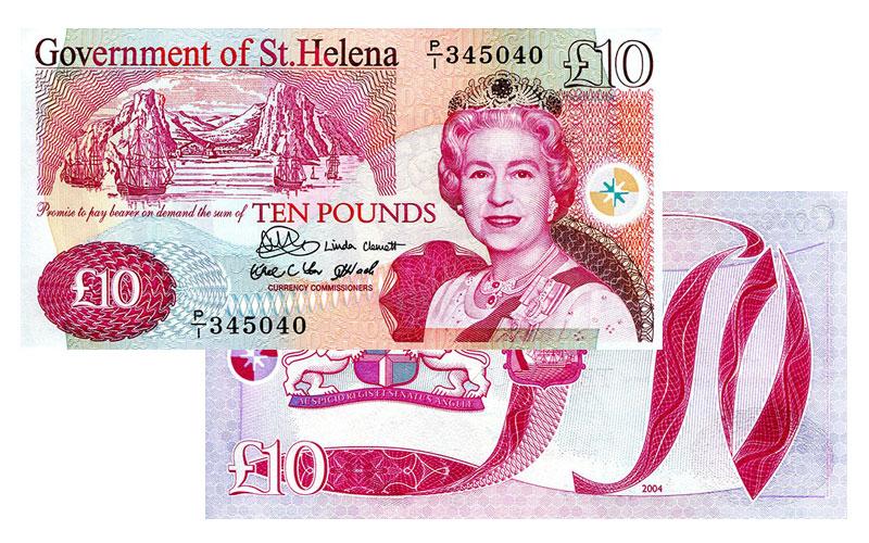 Banknote: 10 Sankt Helena-Pfund