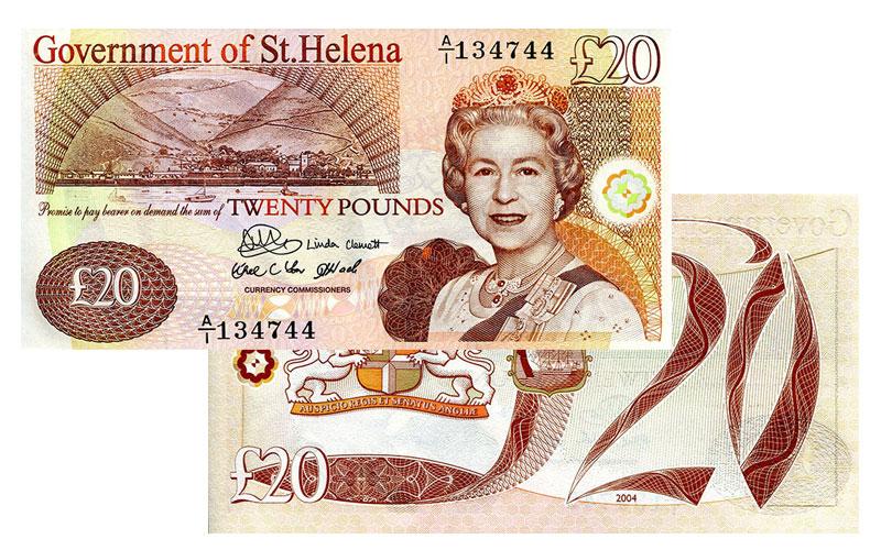 Banknote: 20 Sankt Helena-Pfund