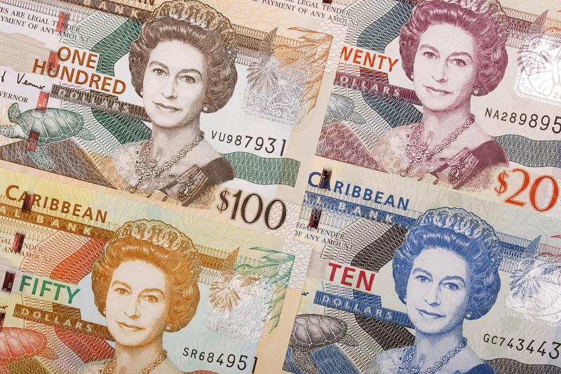 Banknoten: Ostkaribische Dollar