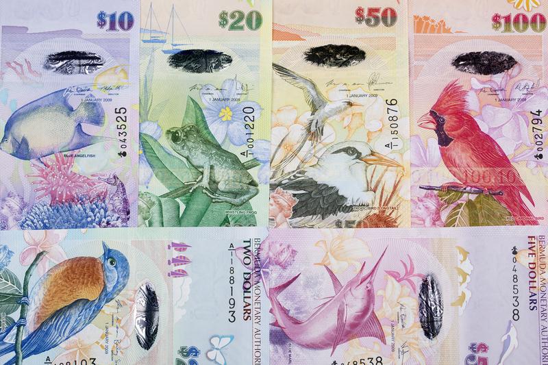 Banknoten: Bermuda-Dollar