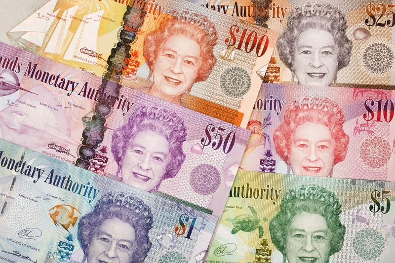 Banknoten: Cayman-Dollar