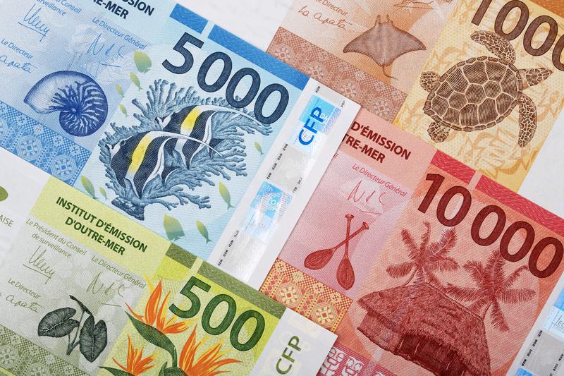 Banknoten: CFP-Francs
