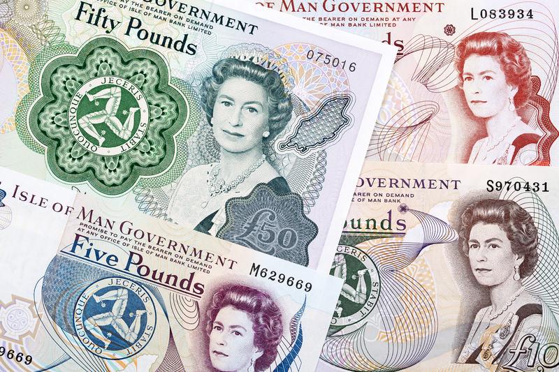 """Banknoten: """"Manx-Pfund"""""""