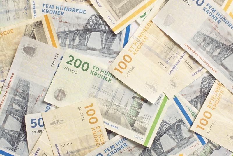 Banknoten: Dänische Kronen
