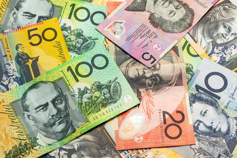 Banknoten: Australische Dollar