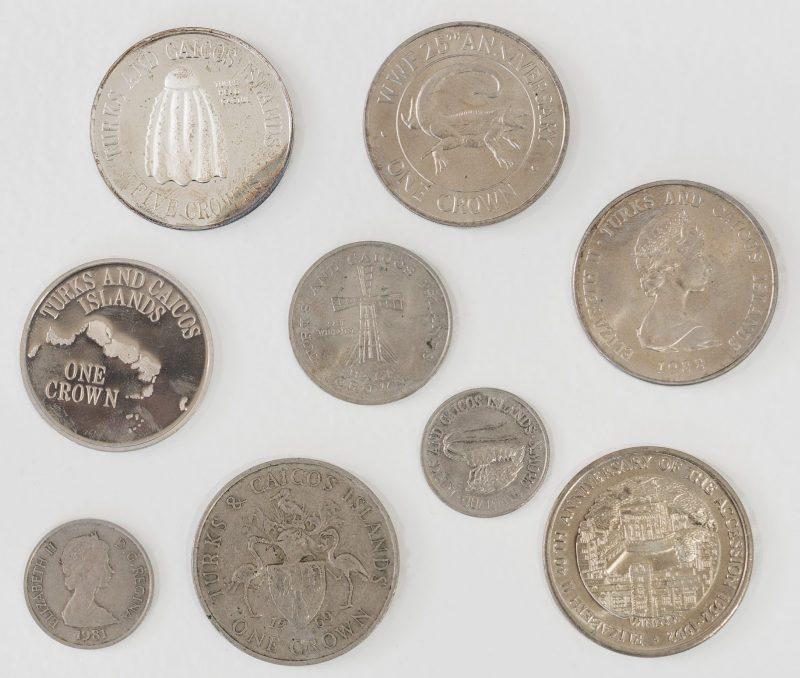 Münzen: Kronen der Turks- und Caicos-Inseln