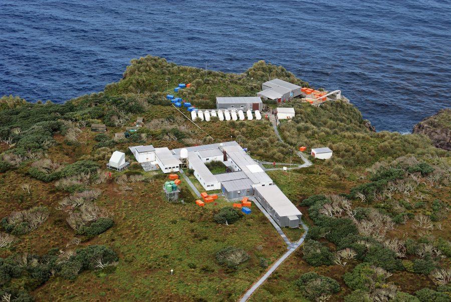 """Bild: Wetterstation """"Gough Island"""""""