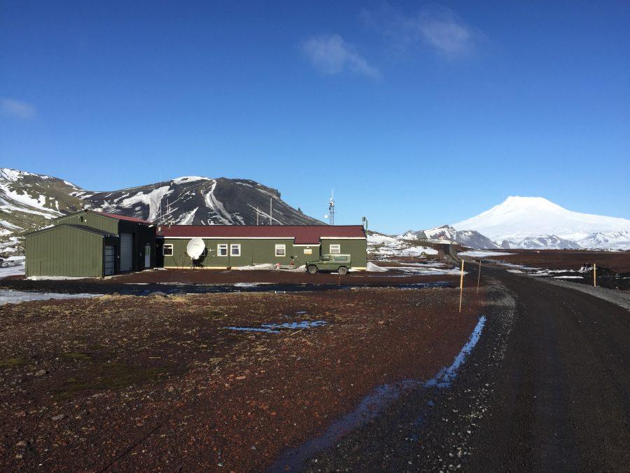 Bild: Meteorologische Station auf Jan Mayen