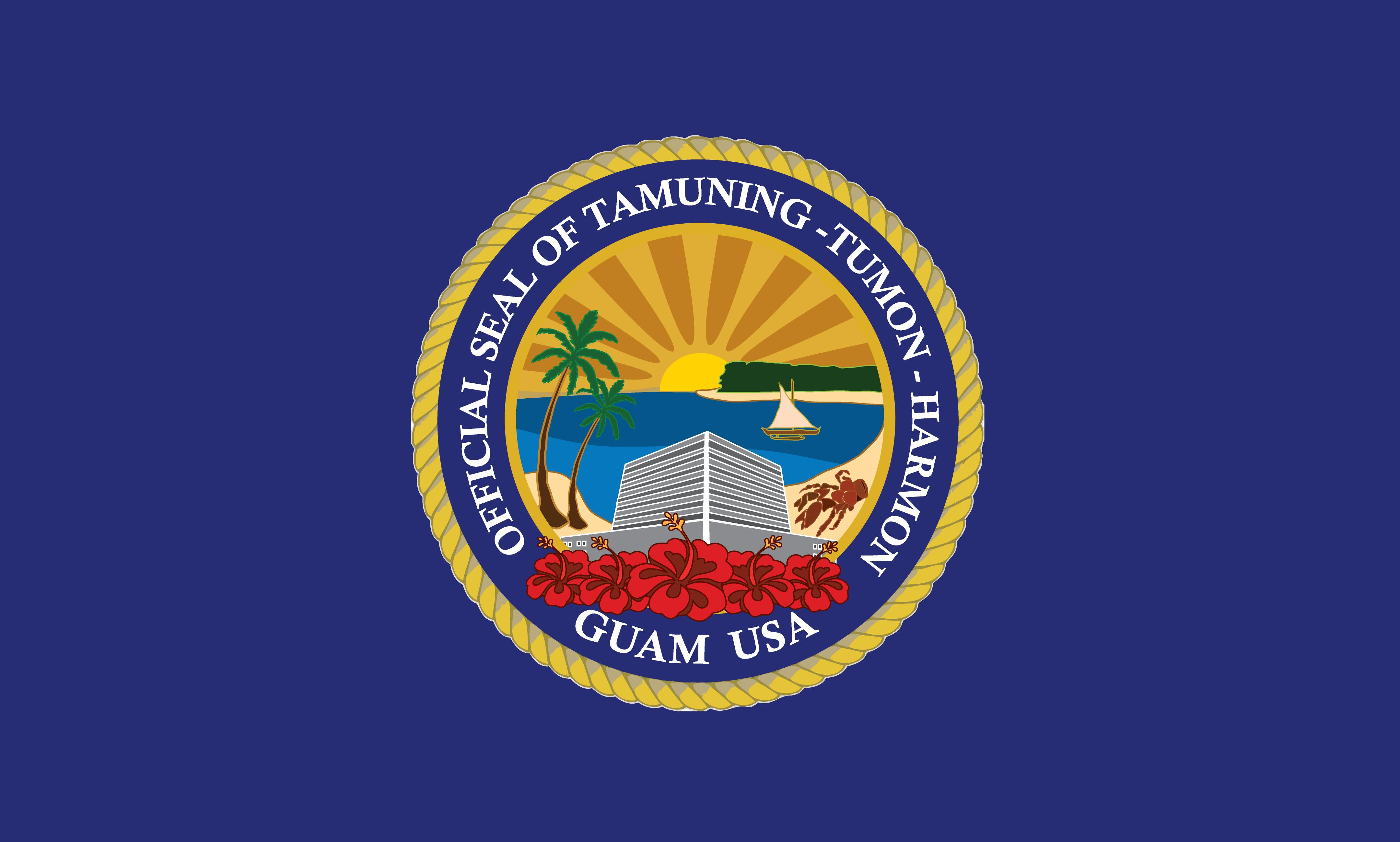 Flagge: Tamuning/Tamuneng (inoffiziell)