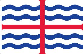 Flagge: Saint George's-Stadt