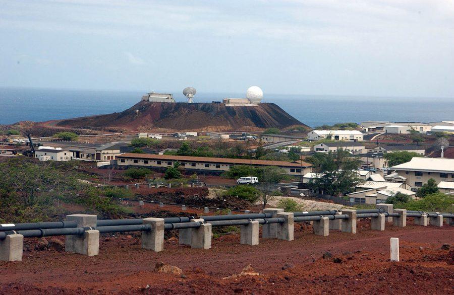 Bild: Cat Hill bzw. Main Base auf Ascension (# 1)
