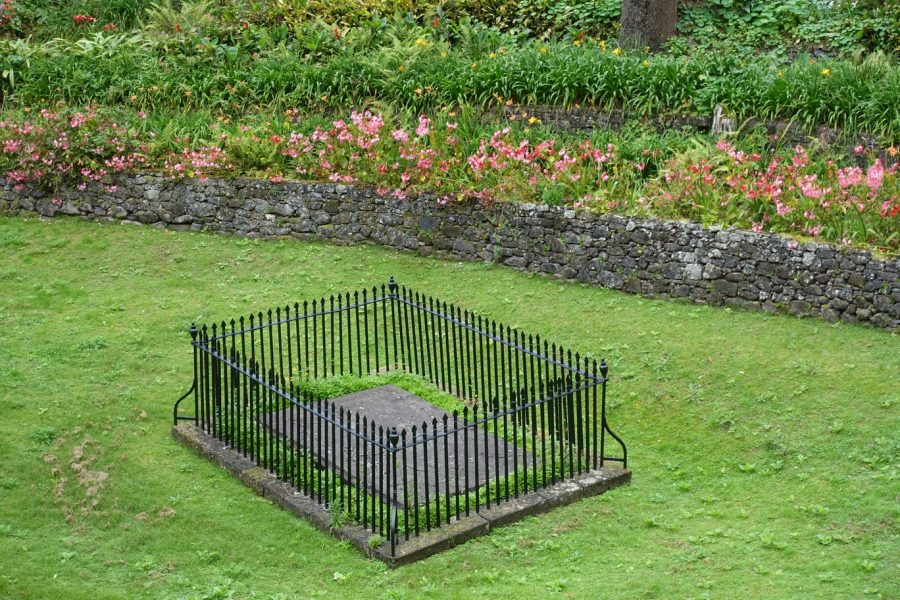 Bild: Grabstätte von Napoleon auf Sankt Helena