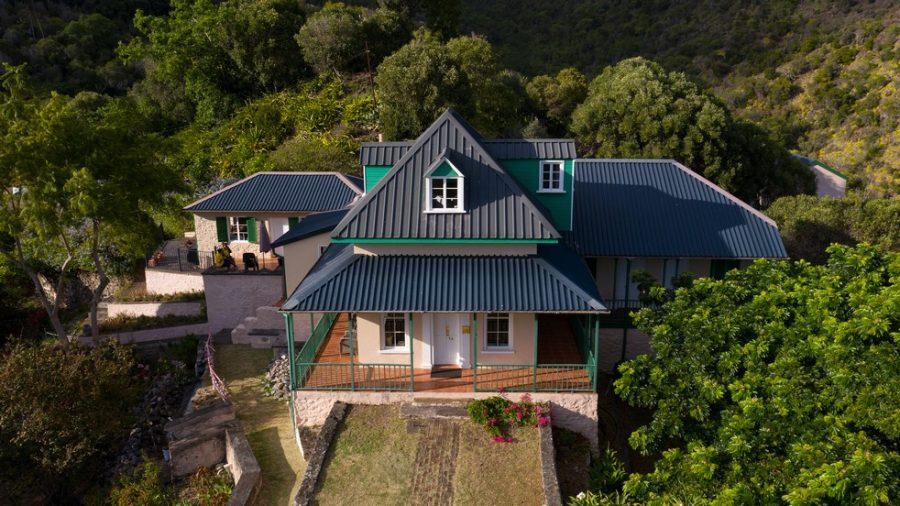 Bild: Briars-Haus auf Sankt Helena