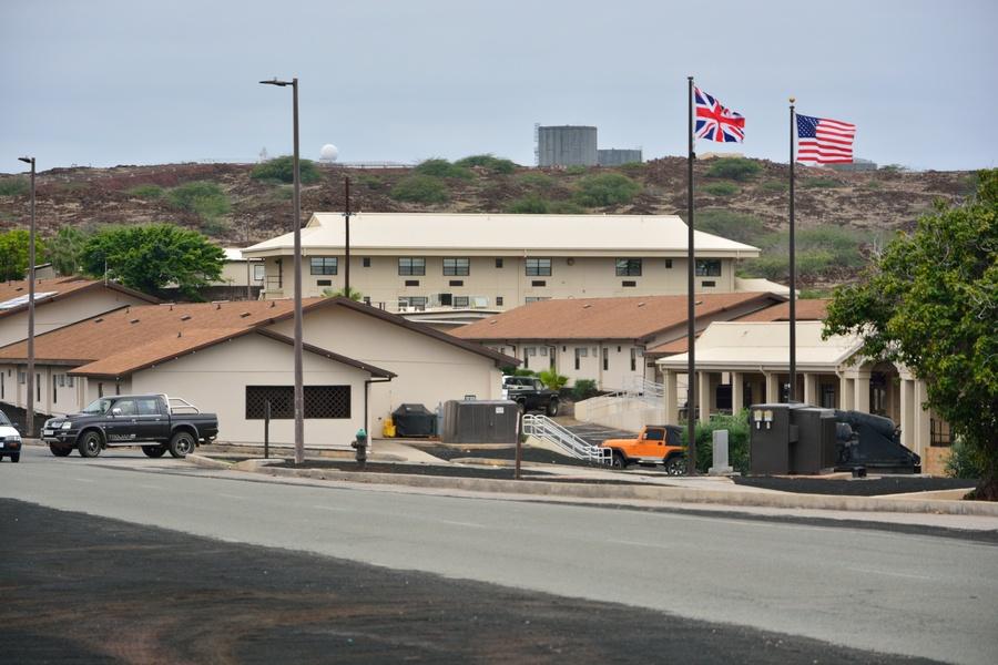 Bild: Cat Hill bzw. Main Base auf Ascension