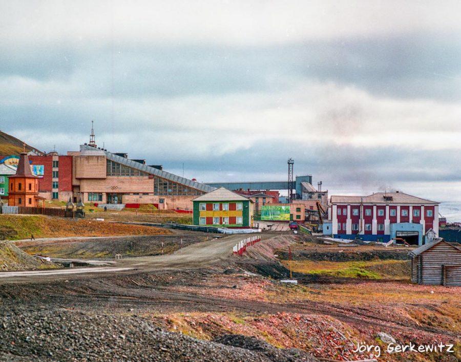 Bild: Barentsburg (Баренцбург) auf Spitzbergen