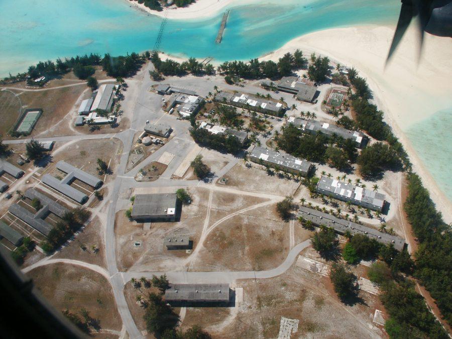 "Bild: Militärcamp ""Downtown"" bzw. ""Downtown Area"" auf dem Wake Atoll (# 1)"