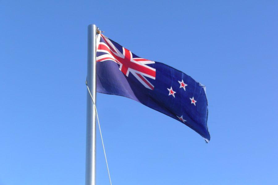 Flagge: Inbesitznahme durch Neuseeland