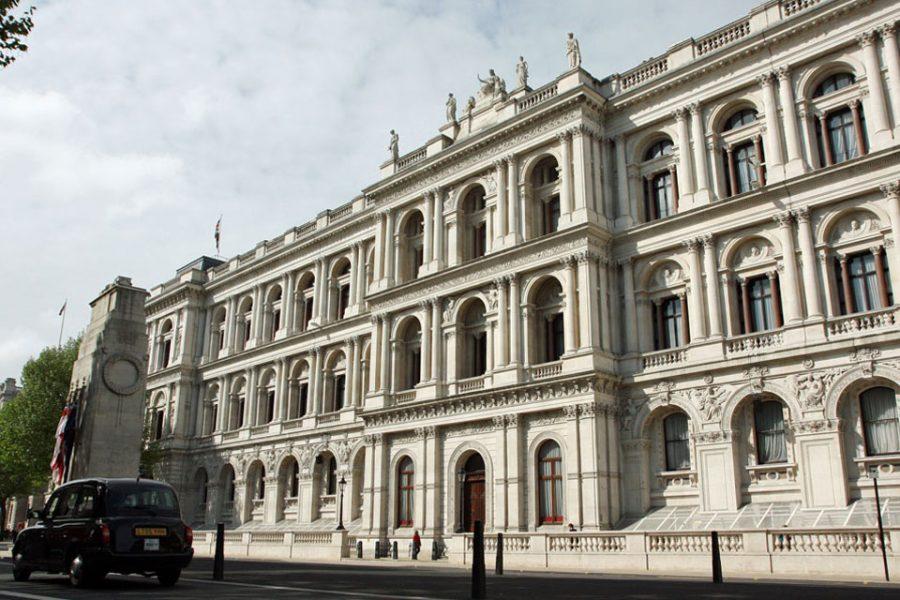 Bild: Hauptgebäude des britischen Ministeriums für Äußeres, Commonwealth und Entwicklung