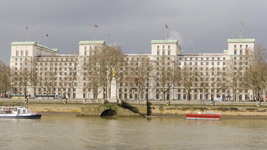 Bild: Hauptgebäude des britischen Verteidigungsministeriums