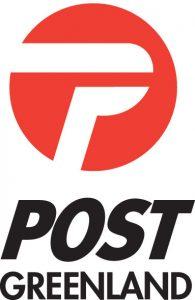 Logo: grönländische Post