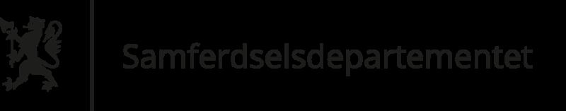 Standardlogo: norwegisches Ministerium für Transport