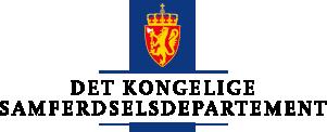 formelles Logo: norwegisches Ministerium für Transport