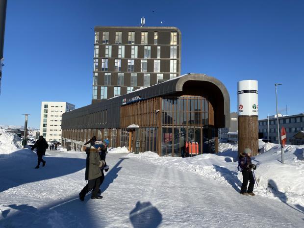 Bild: grönländisches Hauptpostamt