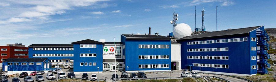 Bild: Hauptbüro der grönländischen Muttergesellschaft TELE-POST