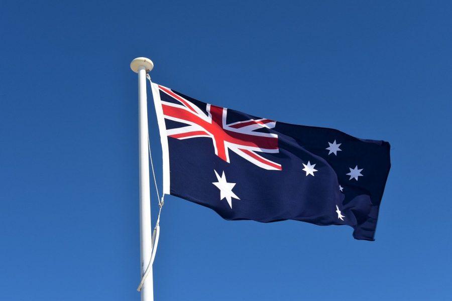 Flagge: Inbesitznahme durch Australien